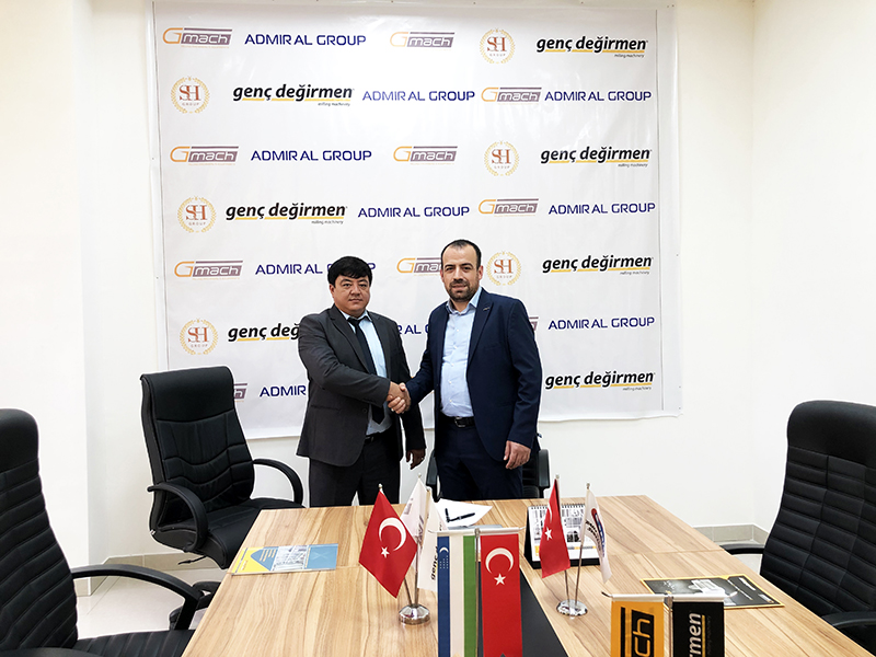 Gmach continues its successful journey in Central Asia
