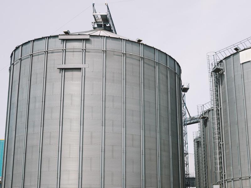 Getreidelager- und Silosysteme