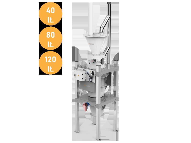 Extraction Scales-Tubex Type (40-80-120 Lt.)1