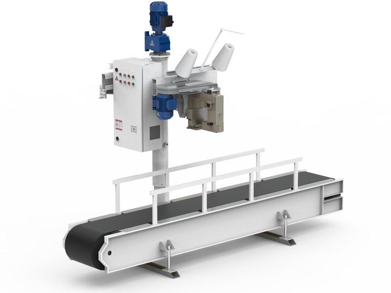 Flour Bagging System With Double Weight Hopper & Six Stations8