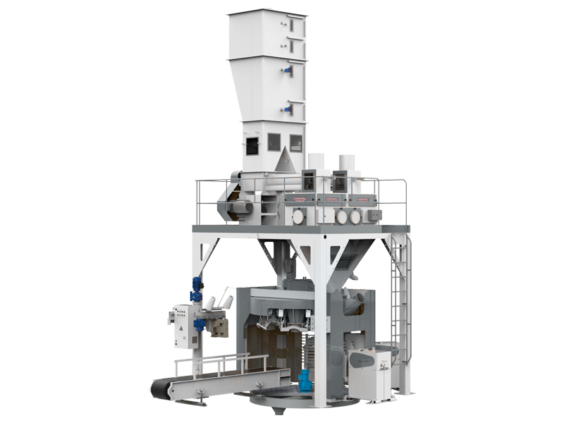 Flour Bagging System With Double Weight Hopper & Six Stations1