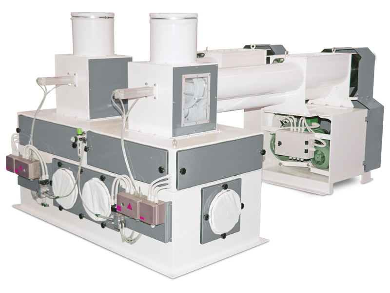 Flour Bagging System With Double Weight Hopper & Six Stations5