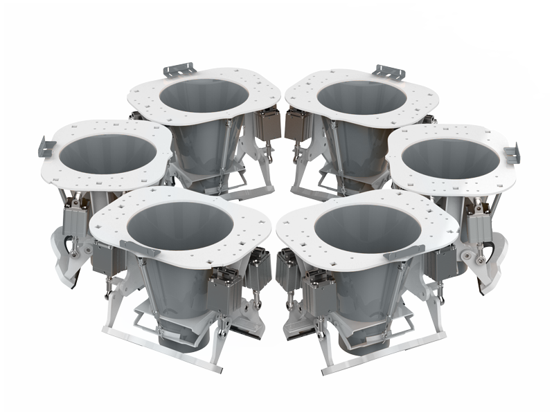 Шестистанционный Весовыбойный Аппарат Карусельного Типа с Двухступенчатым Взвешиванием, Для Муки6