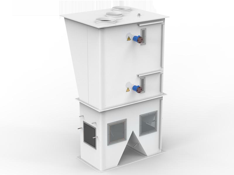 Шестистанционный Весовыбойный Аппарат Карусельного Типа с Двухступенчатым Взвешиванием, Для Муки4