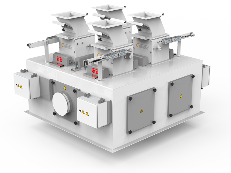 Pulses Packaging Machine With Four Weigh Hoppers & Single Station2