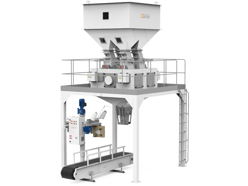 Pulses Packaging Machine With Four Weigh Hoppers & Single Station1